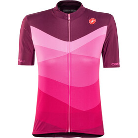 Castelli Tabularasa Maillot de cyclisme Femme, onda/cyclamen